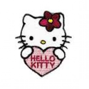 Applikation - Hello Kitty Herz
